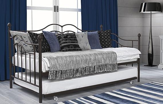 Amazon.com: Sofá cama con ruedas DHP Tokyo, Metal ...