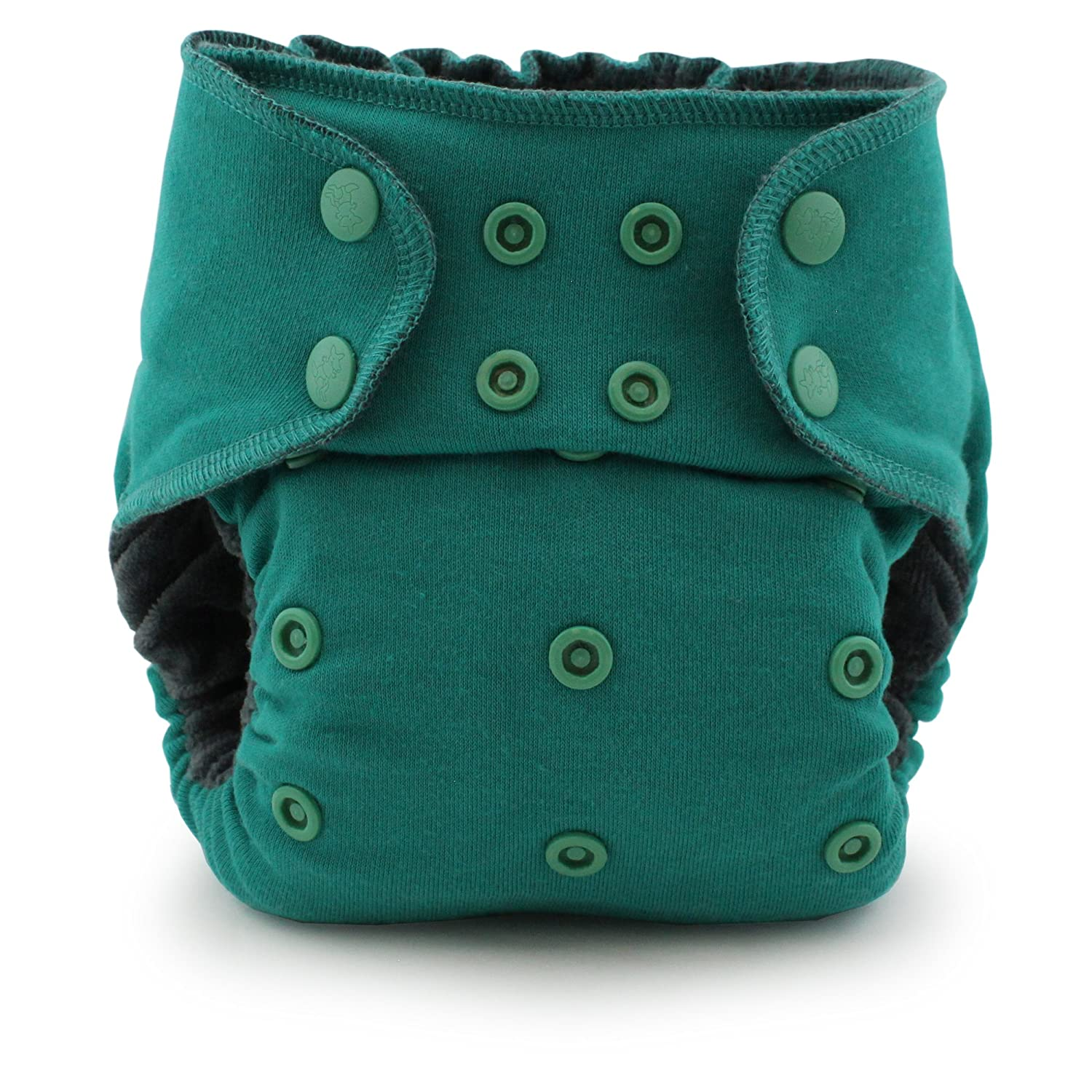 Kanga Care Ecoposh On-Balance Volume One-Size Pocket Fitted Cloth Diaper, Atlantis KEFITTSOS-S301