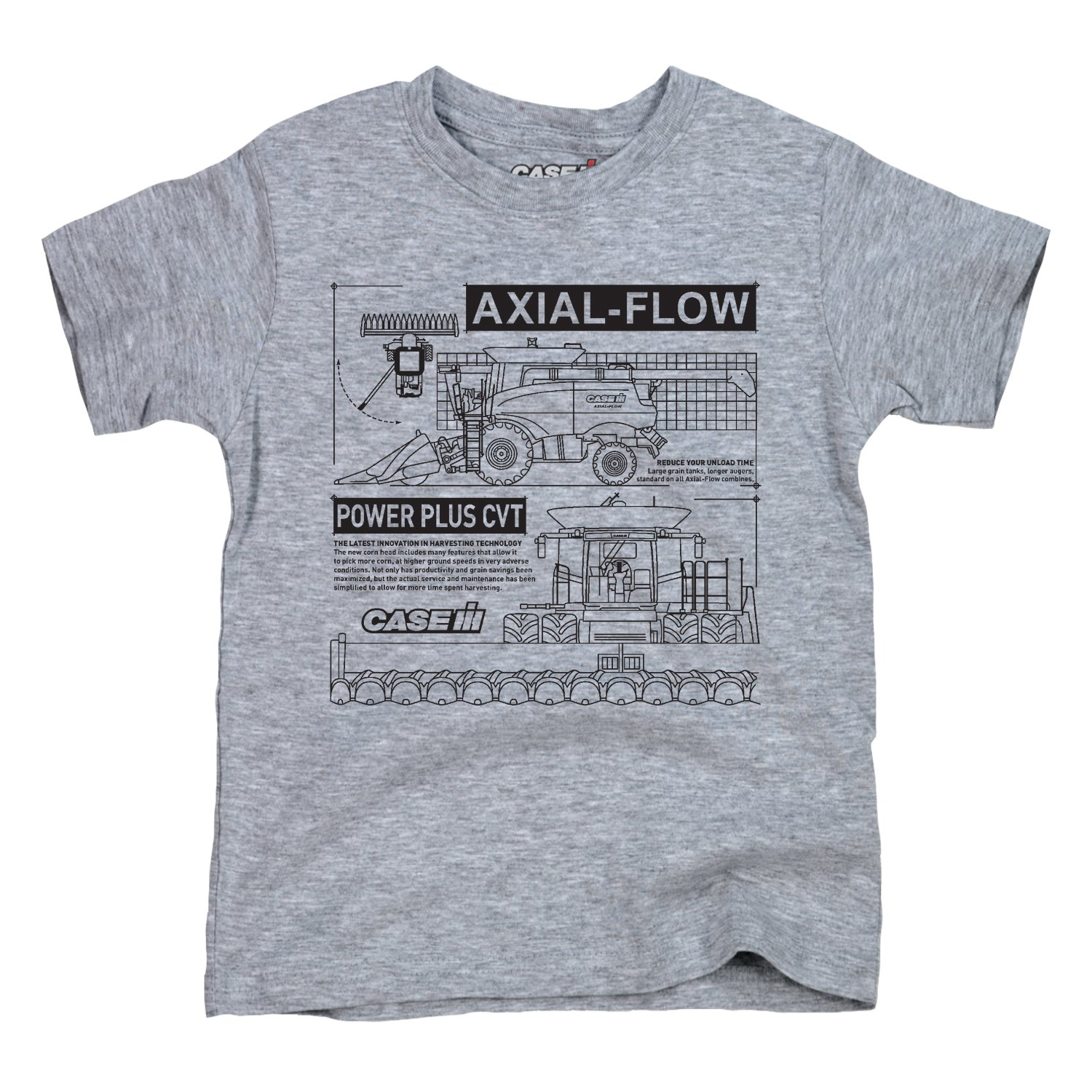 Amazon.com: Axial Flow Diagram CASE IH - Youth Short Sleeve Tee: Clothing