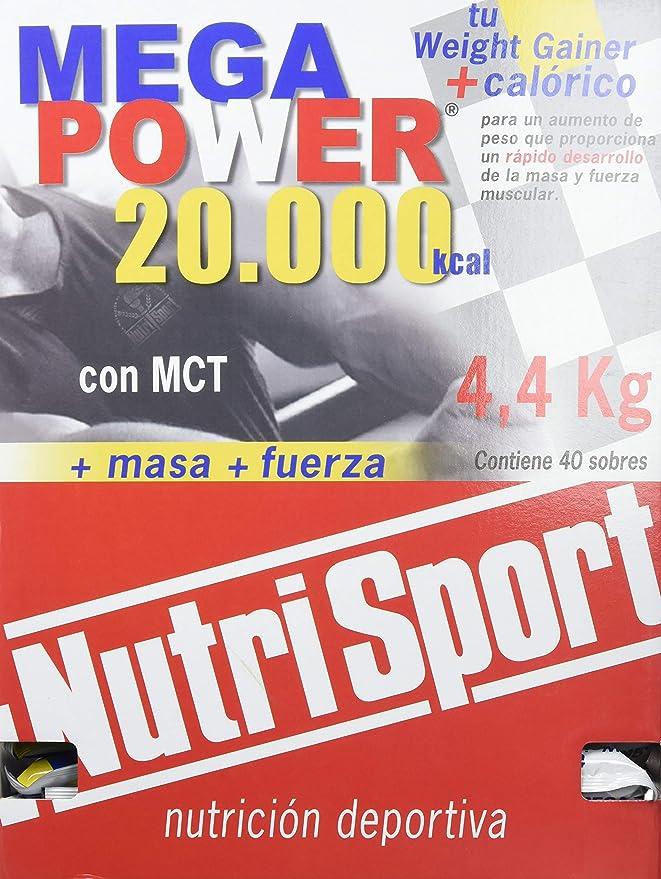Nutrisport Megapower 20.000 Chocolate 40Sbrs. 1 Unidad 200 g