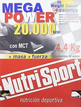 NutriSport Megapower 20000-40 Unidades: Amazon.es: Salud y cuidado personal