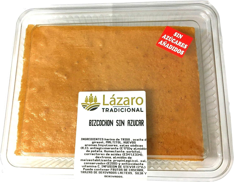 Lázaro Bizcocho Sin Azúcar Con Maltitol 1 Unidad 350 g. Pack de 4 unidades.: Amazon.es: Alimentación y bebidas