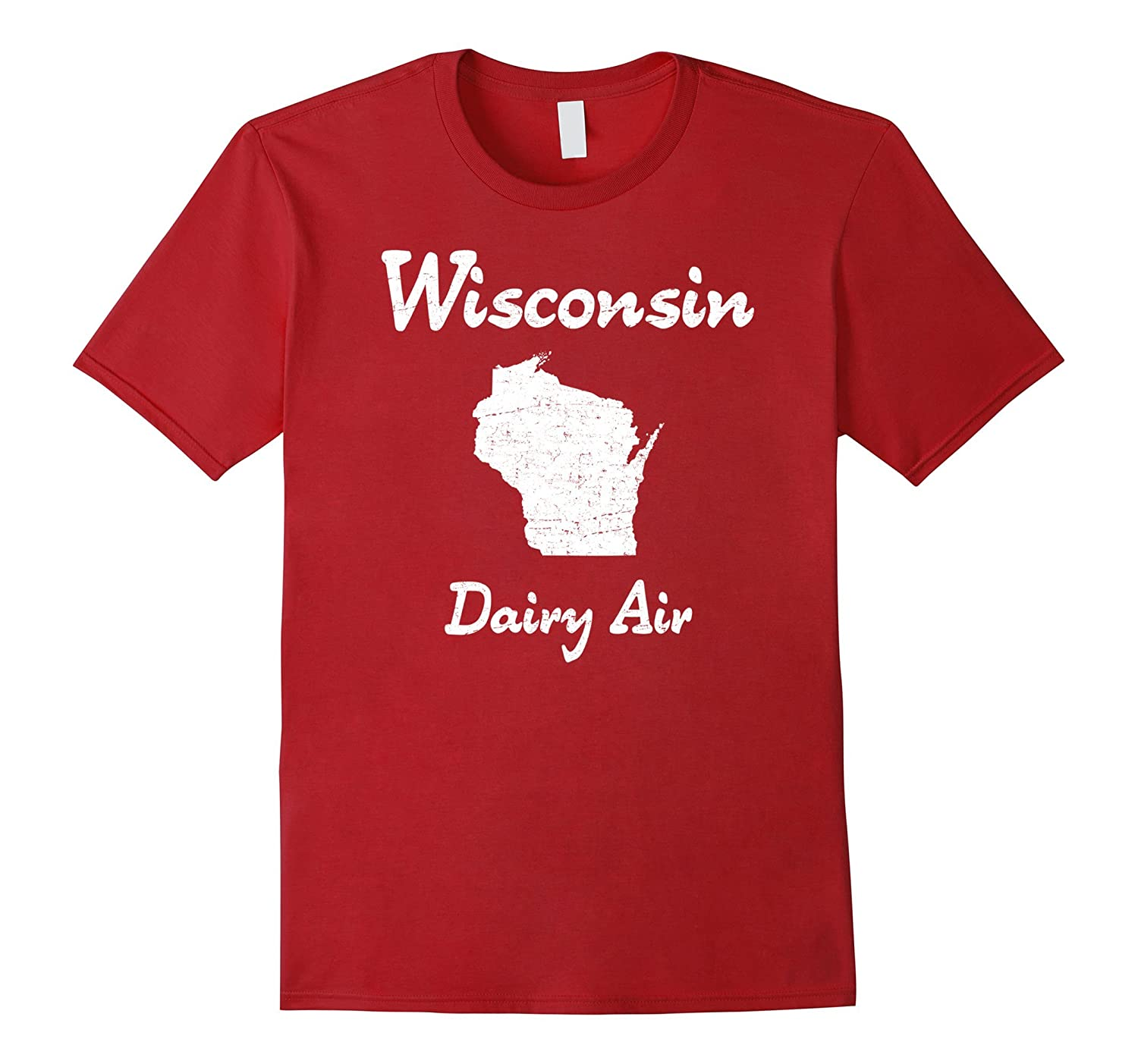 """""""Wisconsin Dairy Air"""" awesome sconnie cow pasture t-shirt"""