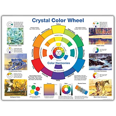 "Crystal Crystal Color Wheel, 24"" x 18"": Industrial & Scientific"