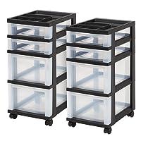 Honey Can Do 3 Drawer Plastic Storage Cart Staples