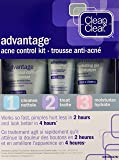 Clean & Clear Advantage Acne Control Kit, 3 Step Kit, Cleaner, Treatment and Moisturizer