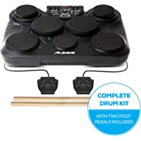 Alesis 16/COMPACT7 CompactKit 7 7-Pad Portable Tabletop Drum Kit