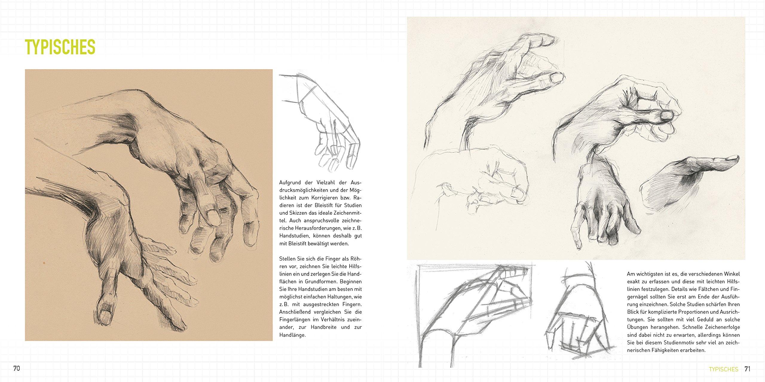 Perfekt zeichnen mit dem Bleistift: Techniken & Übungen zu Linien ...