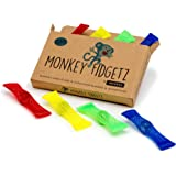 Mesh-and-Marble Fidget Toy (8-pack) - Stress/Anxiety Relief for Adults and Kids - BPA Free