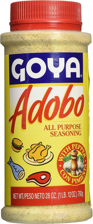 Goya Adobo All Purpose Seasoning With Pepper (28oz Bottle)