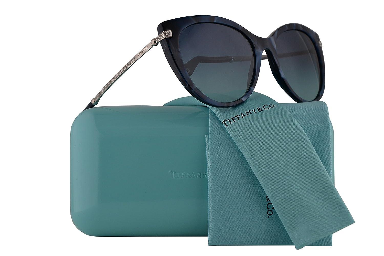 246c3ac8cc9 Amazon.com  Tiffany   Co. TF4143B Sunglasses Shell Blue w Blue Gradient  Lens 55mm 82009S TF4143-B TF 4143B TF 4143-B  Sports   Outdoors