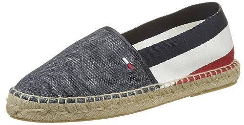 Tommy Jeans Corporate Flat Tj Espadrille, Alpargata para Mujer: Amazon.es: Zapatos y complementos