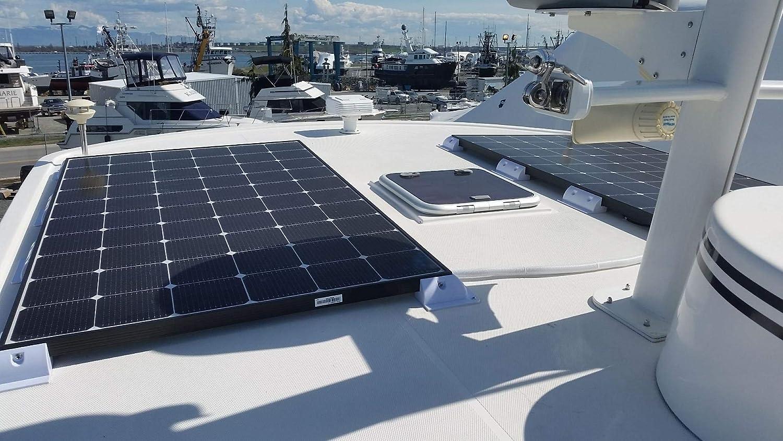 ECO-WORTHY Solar Panel Vier Ecke Halterung und Seite Klammer