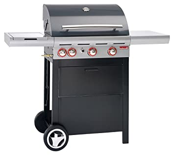 Barbecook Spring 350 Parrilla Carro Gas 11400W Negro, Plata ...