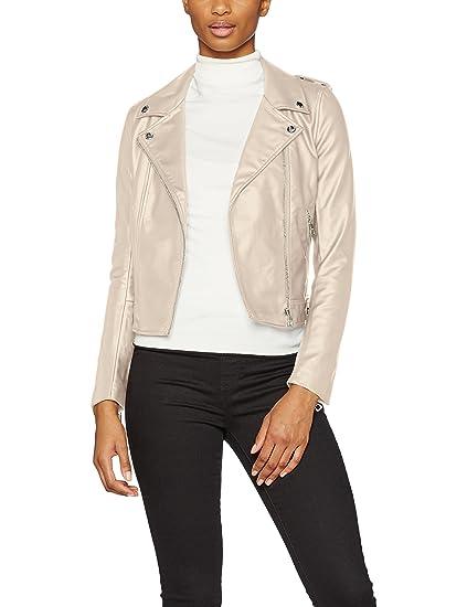 TOM TAILOR Denim Damen Jacke Fake Nappa Biker Jacket: Amazon