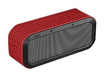 Divoom Outdoor/RD - Altavoz portátil Bluetooth (15W, 6 Altavoces Integrados, 8h de autonomía, micrófono Incorporado) Color Rojo: Amazon.es: Electrónica