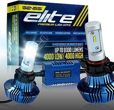 LED Kit X3 50W 9005 HB3 10000K Blue Two Bulbs Head Light High Beam Waterproof