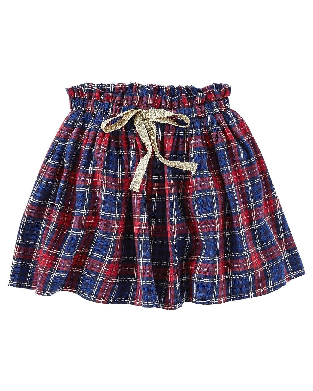 OshKosh BGosh Big Girls Twill Plaid Skirt