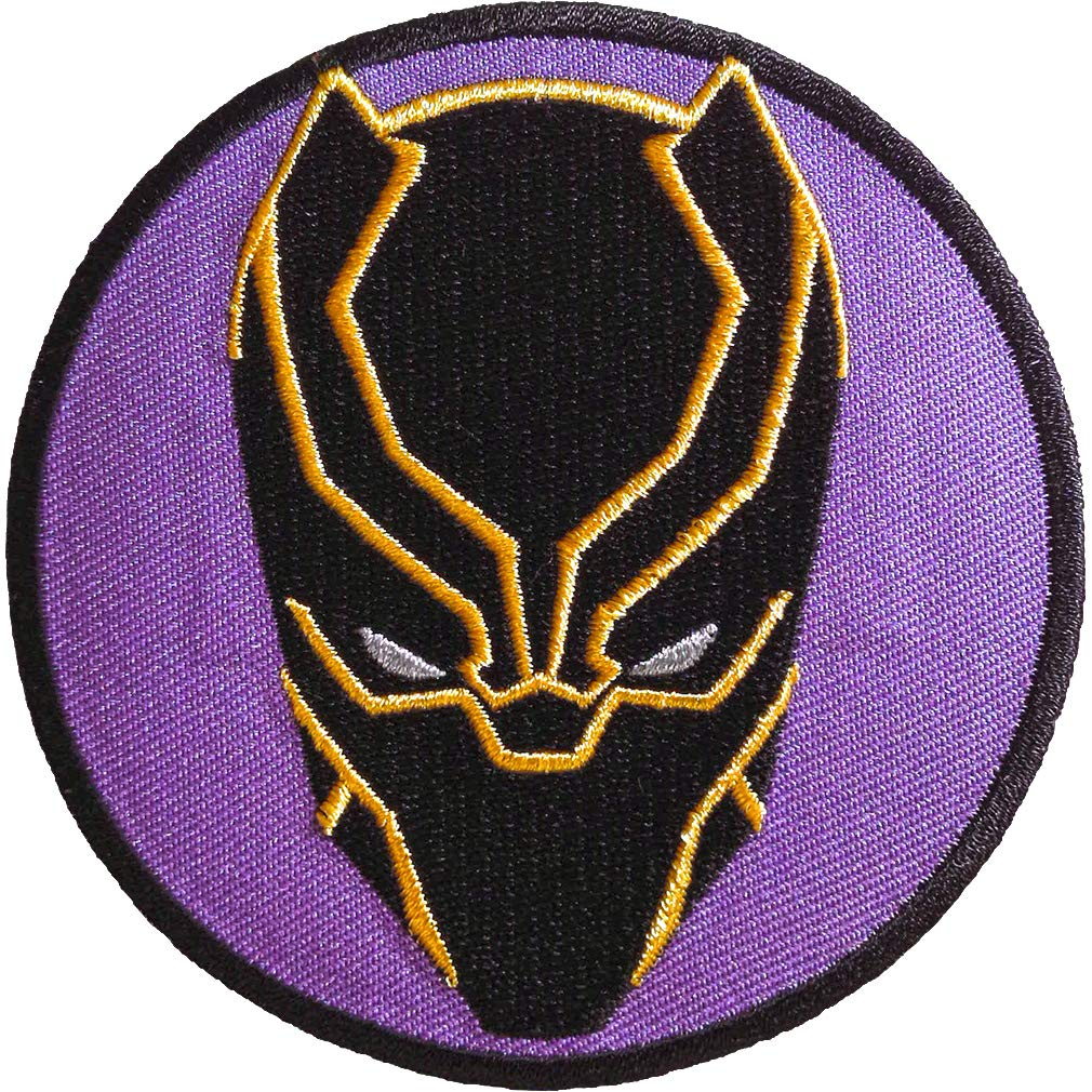 Ata-Boy Marvel Comics Black Panther 3' Full Color Iron-On Patch Inc. 61059MV