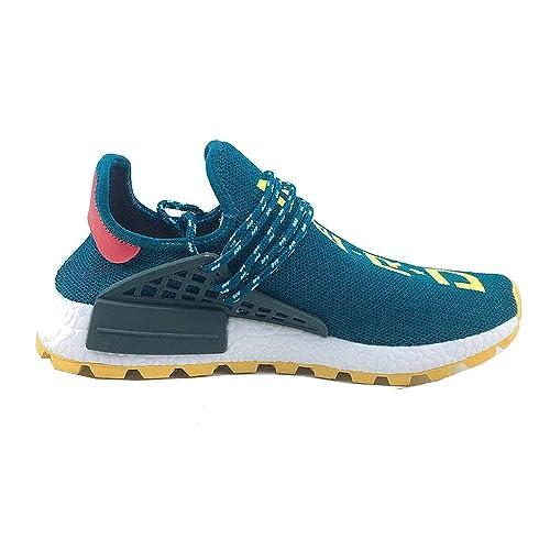 3531c8f7c9602 Adicas Pharrell Williams x NMD Hu Trial Solar Pack Human Race Men Women  Running Shoes (