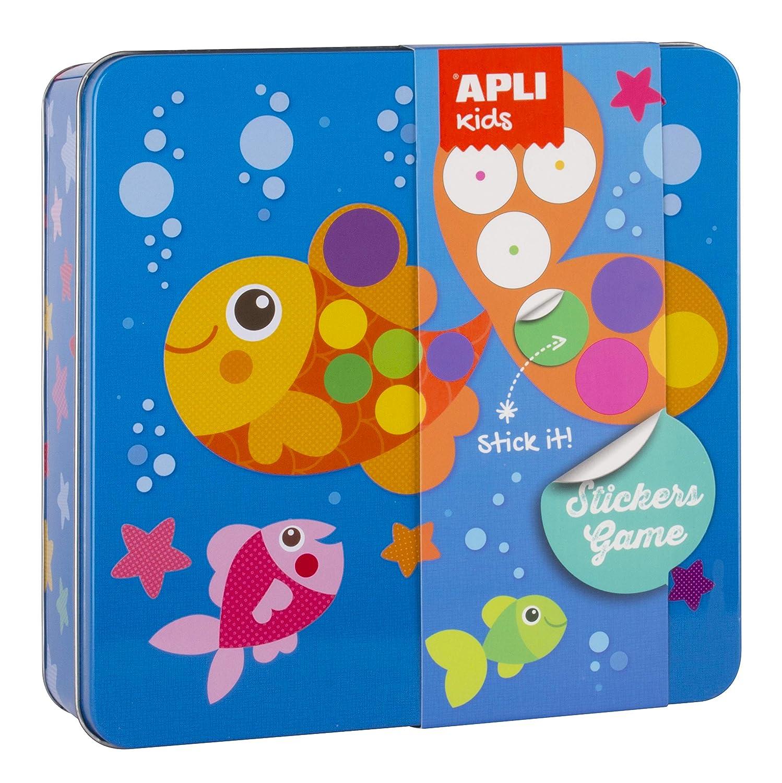 Apli Kids 15219 ラバーセット マルチカラー   B079KCVFMB