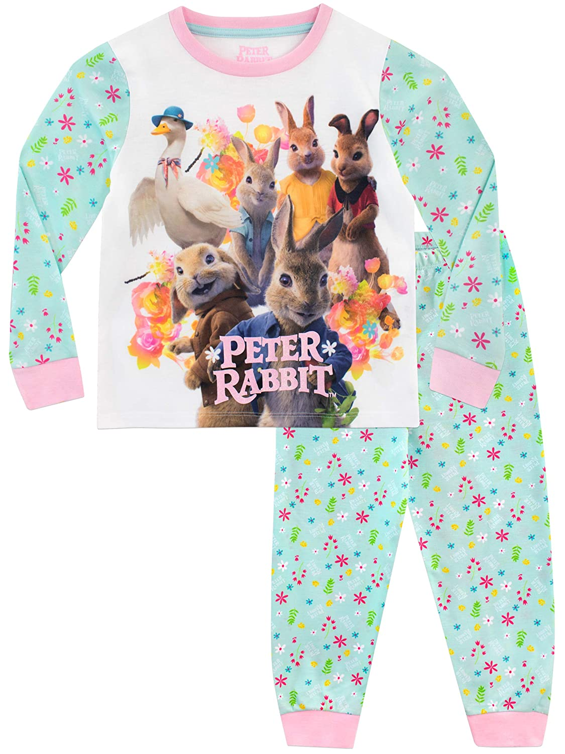 Peter Rabbit Girls' Beatrix Potter Pajamas