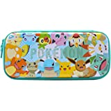 Hori Nintendo Switch Vault Case (Pokemon: Pikachu & Friends) By - Officially Licensed By Nintendo and the Pokemon Company Int