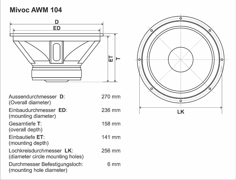 Großzügig Lautstärkedurchmesser Des Lautsprecherkabels Ideen - Der ...