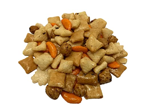 NUTS US - Oriental Rice Crackers in Resealable Bag!!! (2 LBS)