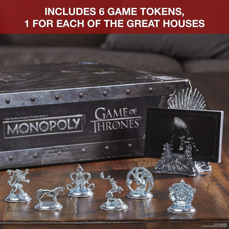 Monopoly Game of Thrones: Amazon.es: Juguetes y juegos