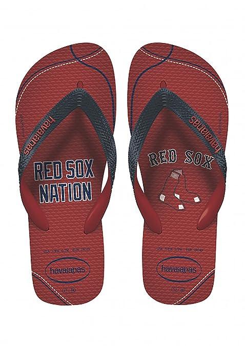 174ca607ff153f Havaianas Unisex Top MLB Boston Red Sox Sandal (39-40 M Bra (US