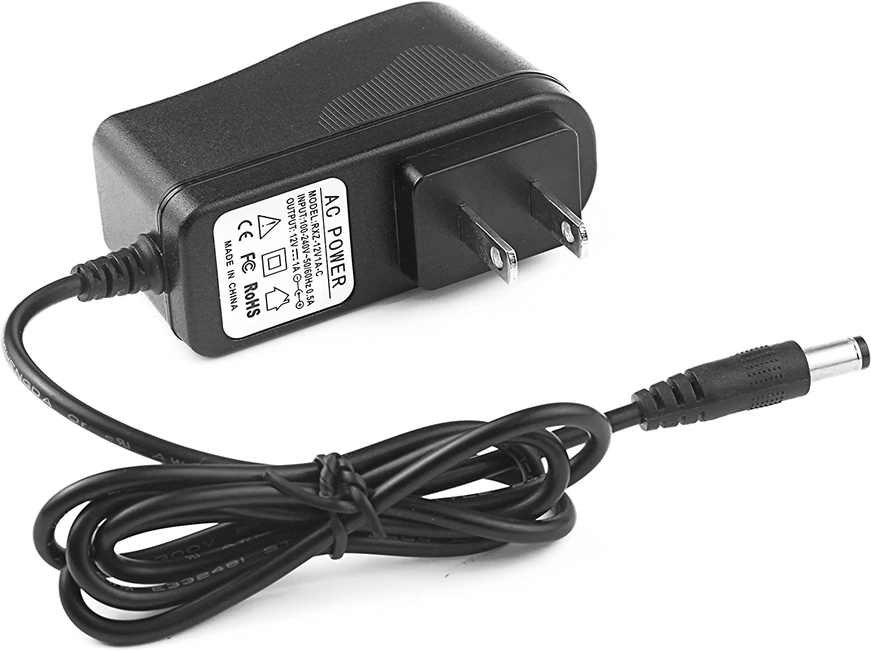 US Adapter 12V 1A AC To DC Plug Power Supply for CCTV Home Security Camera AC0