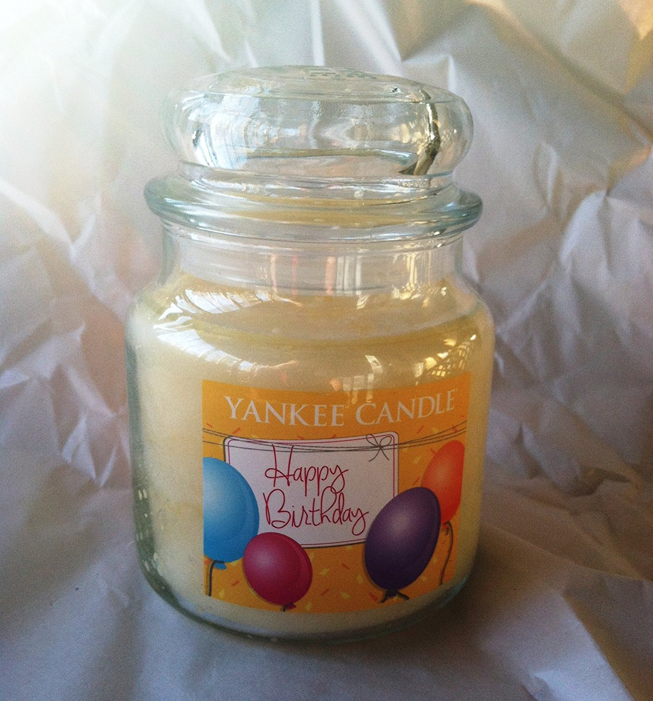 Amazon Yankee Candle 145 Oz HAPPY BIRTHDAY Medium Jar Home Kitchen