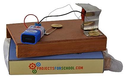 Buy Simple Electric Bell School Science Project Working Model, DIY ...