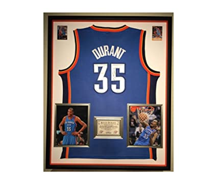 timeless design fb08e 9d022 Premium Framed Kevin Durant Autographed/Signed Oklahoma City ...