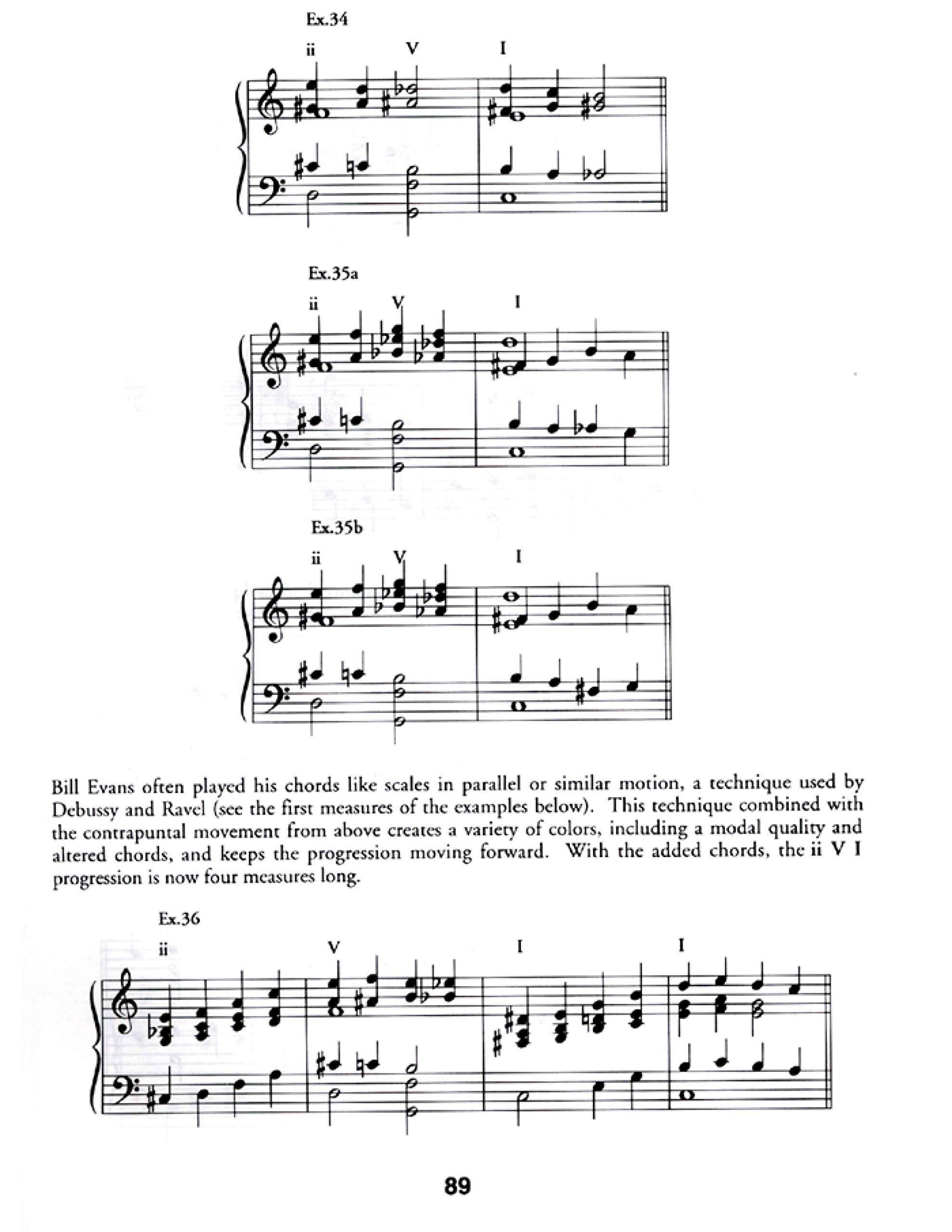 Luke Piano teaching material Stylistic II//V7//I Voicings for Keyboard Gillespie
