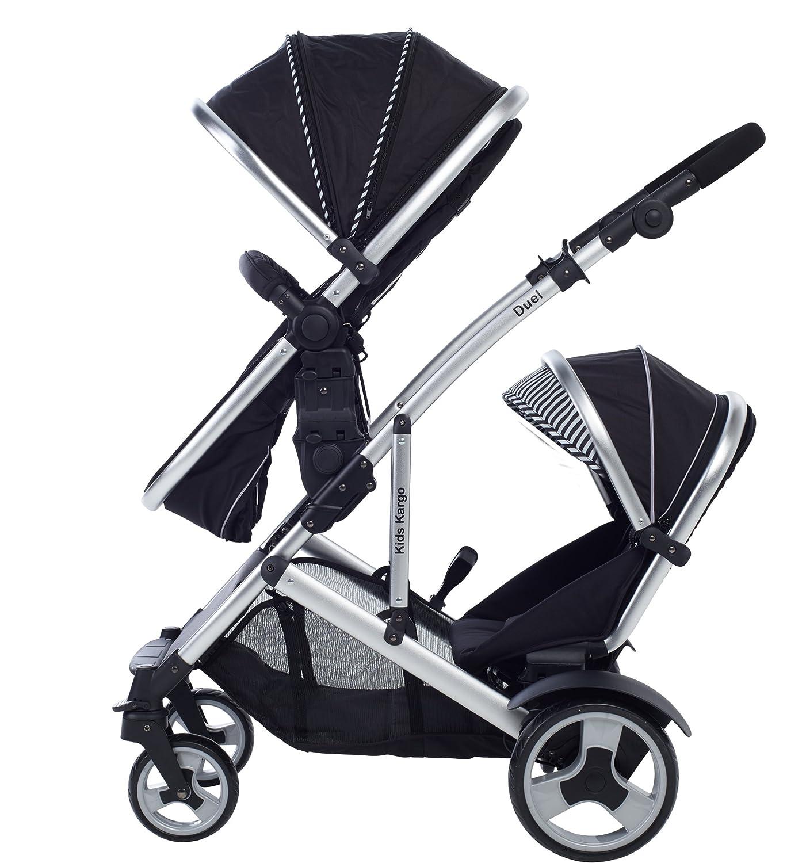 Kinder Kargo Duell DS Combo-Kinderwagen Tandem Doppel-Kinderwagen