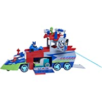 PJ Masks PJ Seeker with Bonus Catboy, Owlette and Gekko Figures - Amazon Exclusive