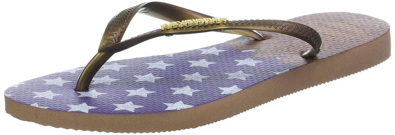 fe2d5ec1aaa3 Havaianas Women s Slim HEROINAS Flip Flops  Amazon.co.uk  Shoes   Bags
