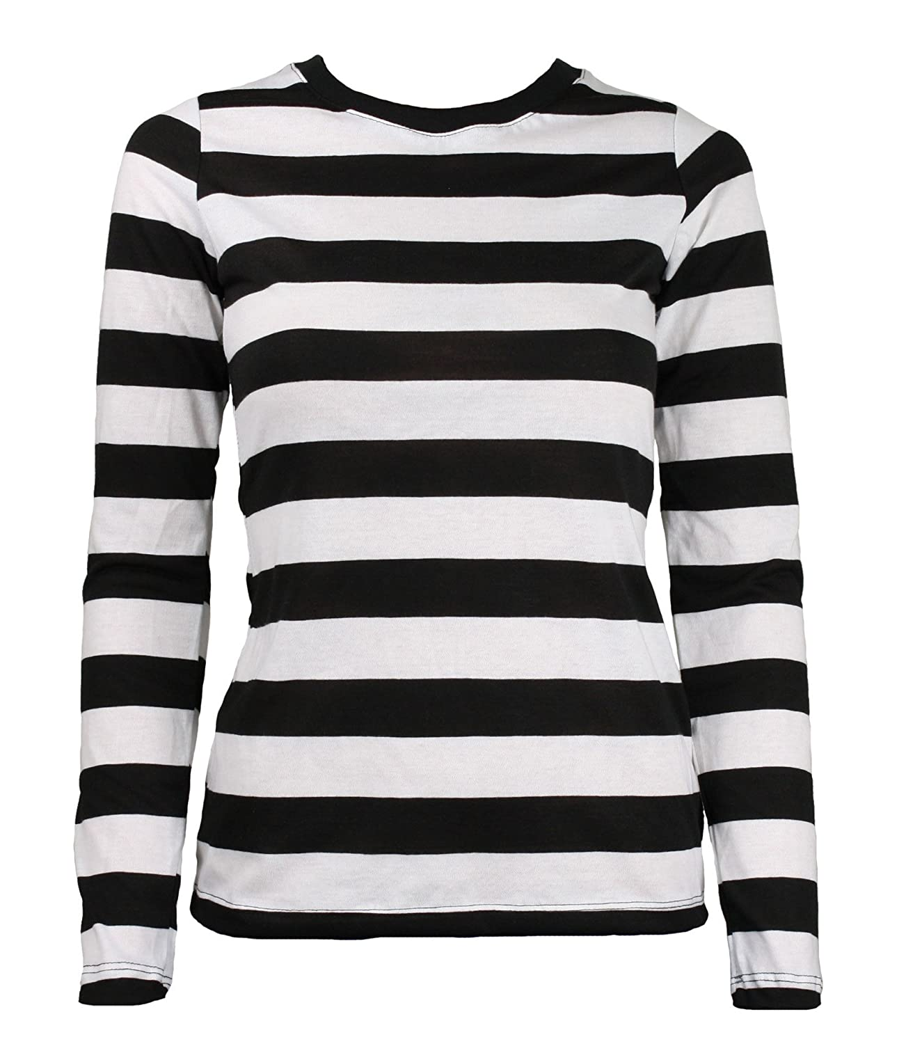 Black and white long sleeve shirt south park t shirts for Black and white striped long sleeve shirt women