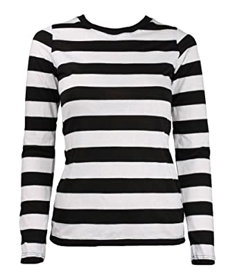 Image result for black and white striped shirt