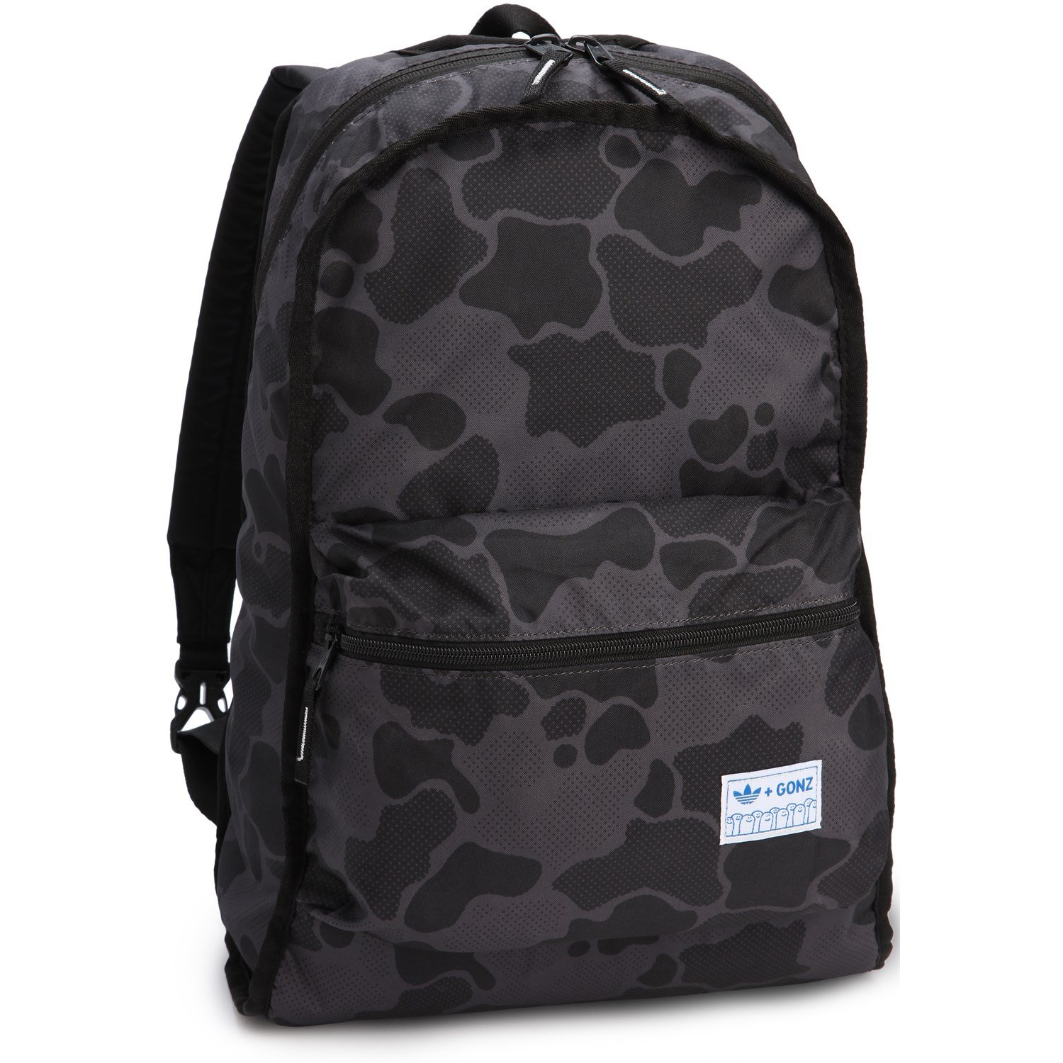 5c62e41572 adidas Originals Reversible Backpack Black Gonz Camo