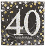 Sparkling Celebration 40 Beverage Paper Napkins
