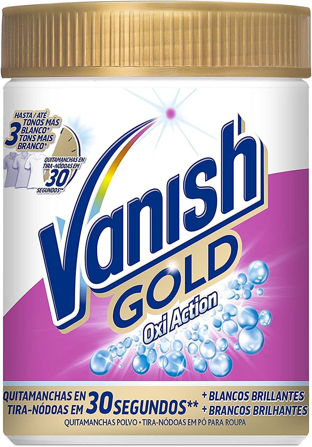 Vanish - Oxiaction gold Wh. Powder Detergente en polvo 470 g: Amazon.es: Salud y cuidado personal