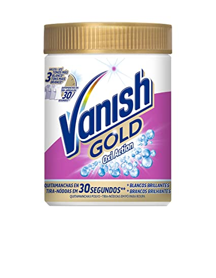 Vanish - Oxiaction gold Wh. Powder Detergente en polvo 470 g