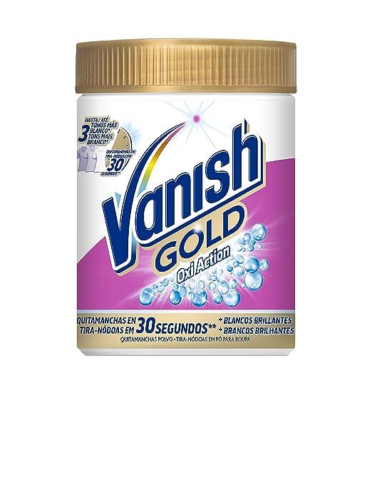 Vanish Oxiaction Gold White Detergente en Polvo - 470 g: Amazon.es: Amazon Pantry