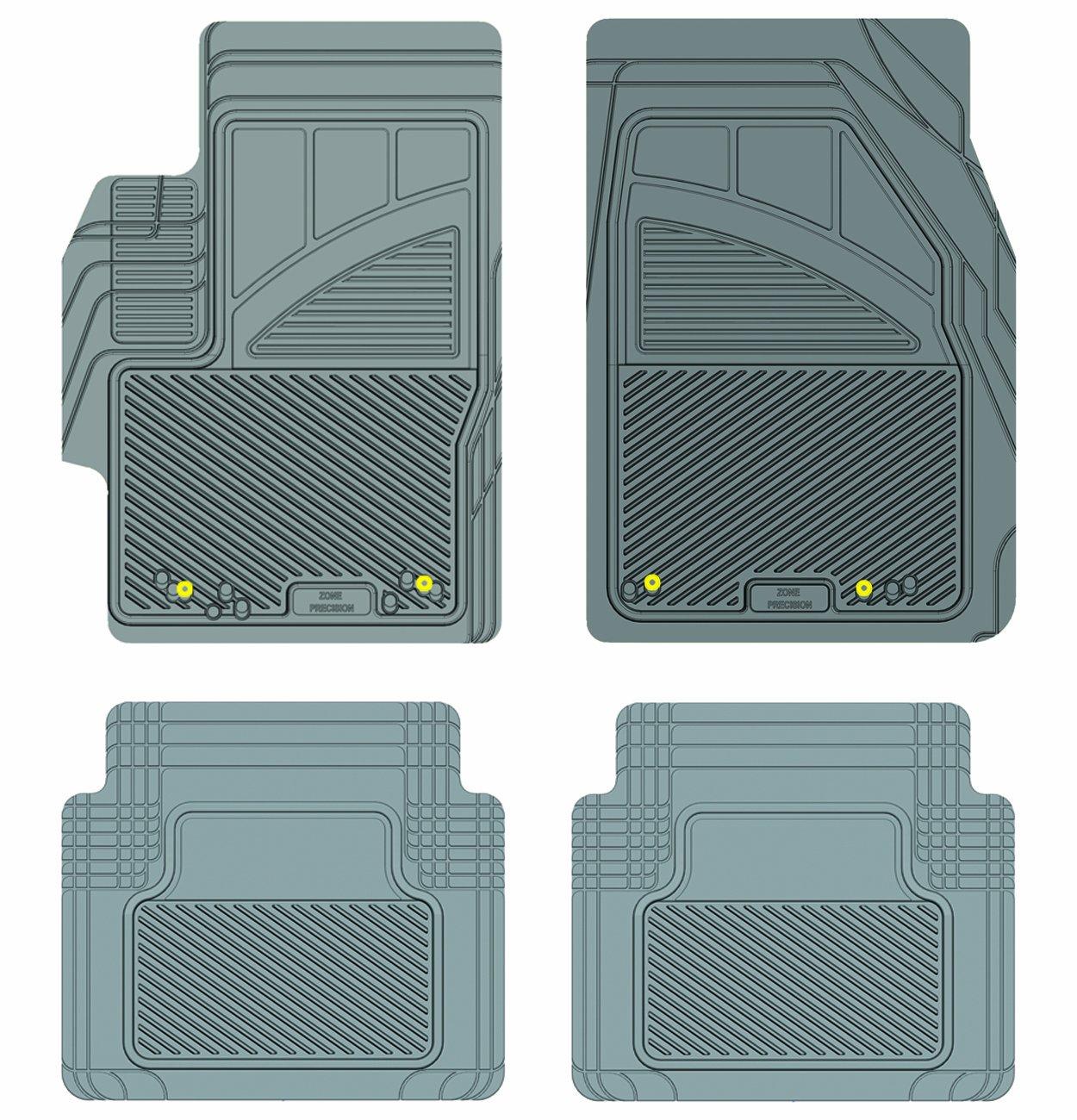 Grey Koolatron Pants Saver Custom Fit 4 Piece All Weather Car Mat for Select Mazda 6 Models