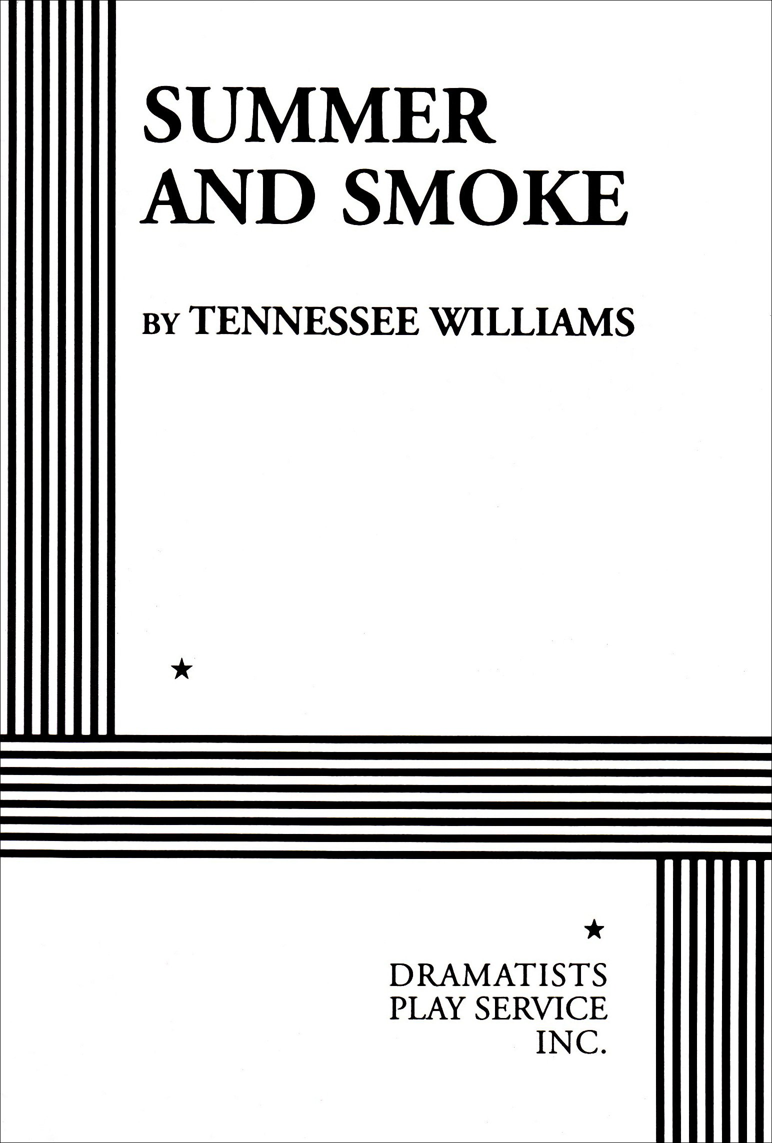 Summer and Smoke: Amazon.es: Tennessee Williams: Libros en idiomas ...
