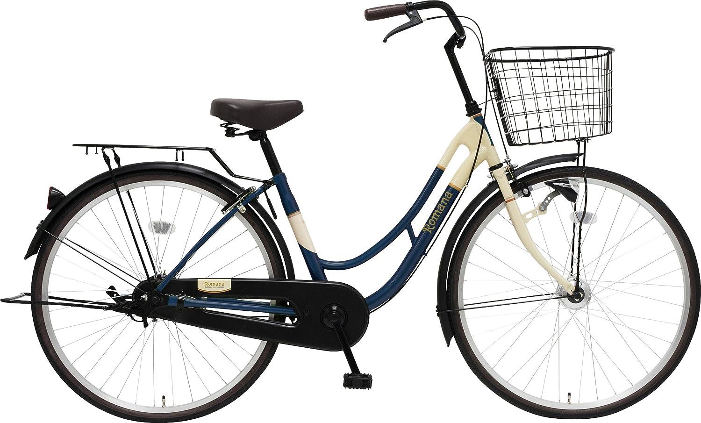 marukin(マルキン) 完全組立 26インチ自転車 LEDオートライト B077Y411Z7 ダークブルー ダークブルー