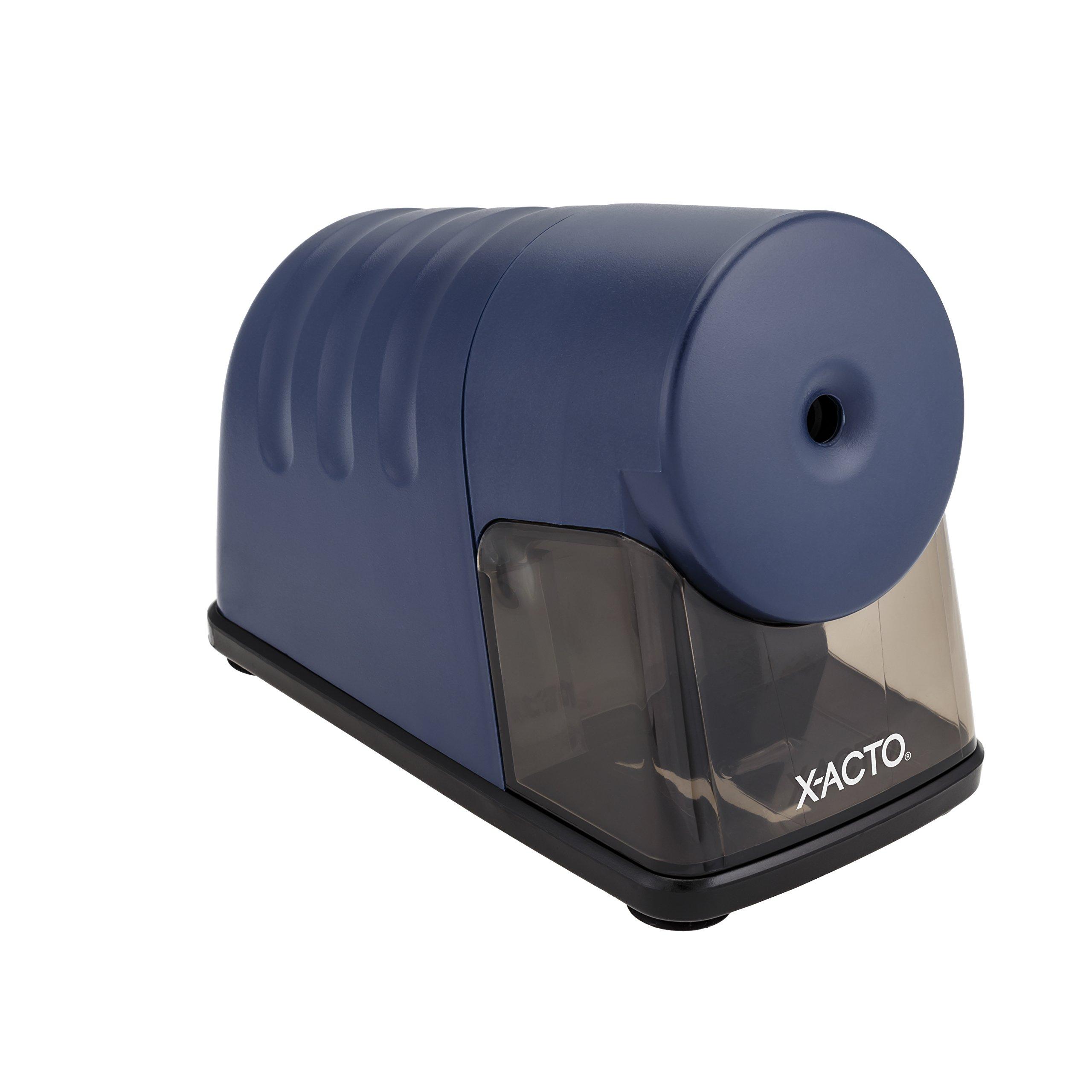 X-ACTO Powerhouse Electric Pencil Sharpener, Navy Blue
